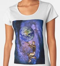 Atlas of the future Women's Premium T-Shirt