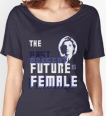 The Past-Present-Future Is Female (Silhouette) Women's Relaxed Fit T-Shirt