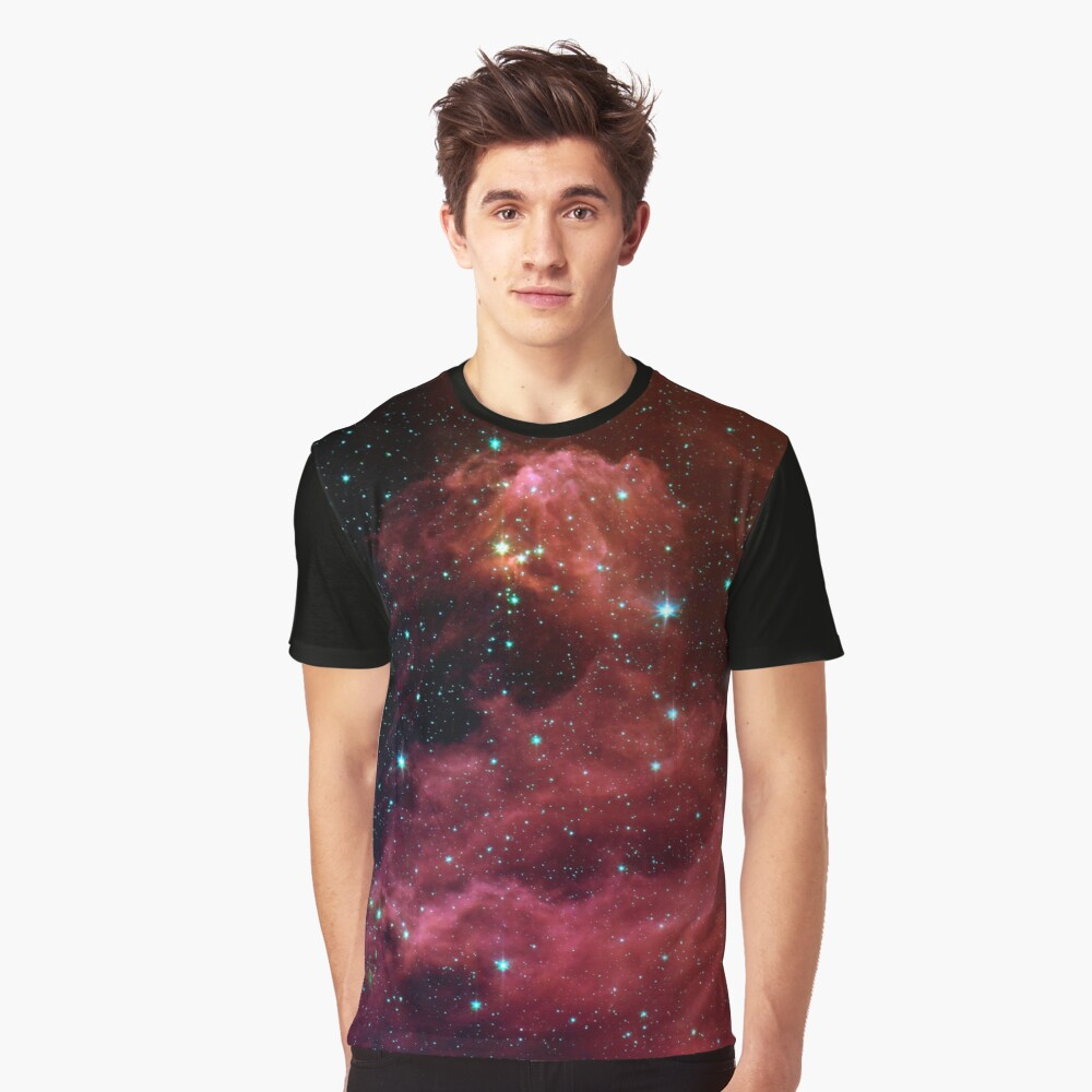 Star Formation Graphic T-Shirt