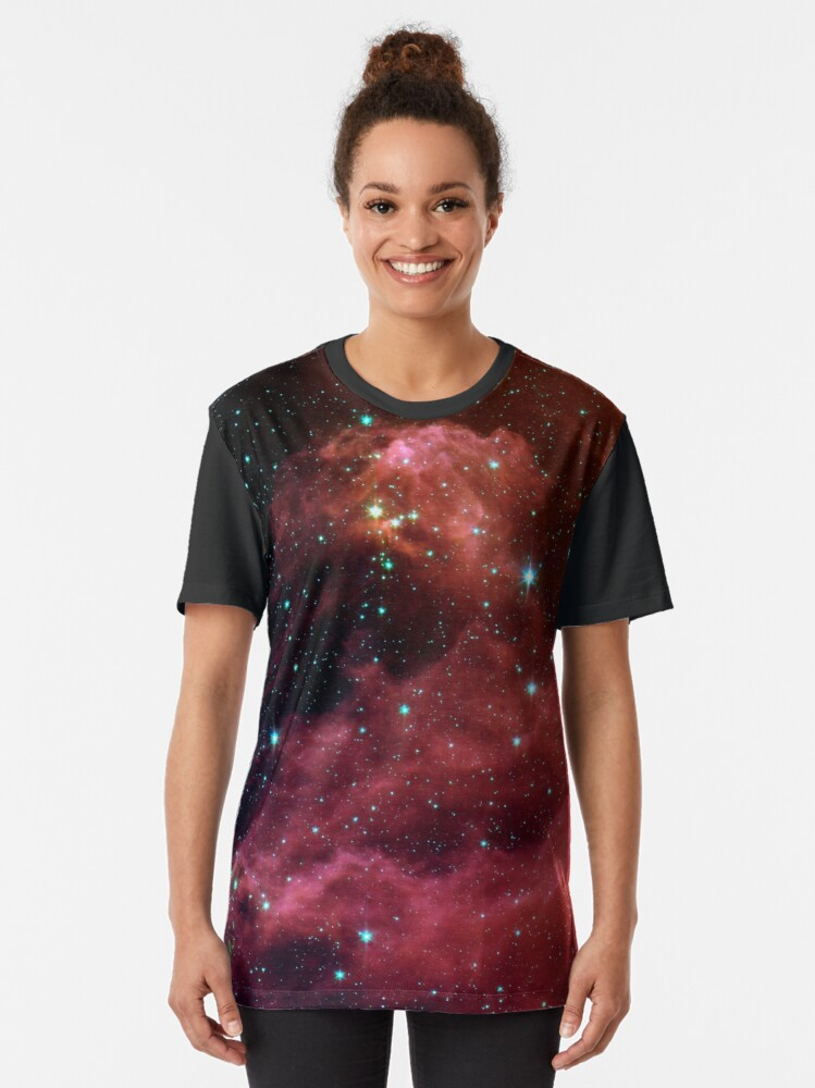 Alternate view of Star Formation Graphic T-Shirt