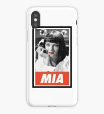 -TARANTINO- Mia Wallace iPhone Case/Skin