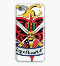 OG king of harts  iPhone Case/Skin