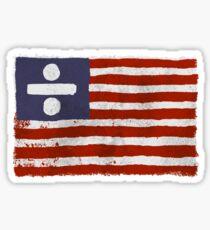 Divide Flag Sticker
