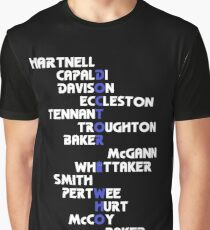 Doctors Who? v4: DoctHer Who Graphic T-Shirt