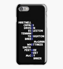 Doctors Who? v4: DoctHer Who iPhone Case/Skin