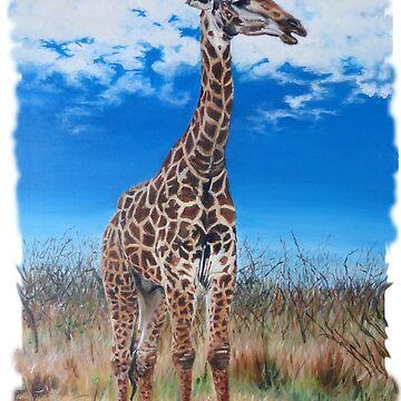 Giraffe by CamphuijsenArt