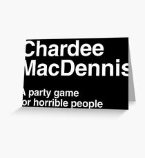 CharDee MacDennis Greeting Card