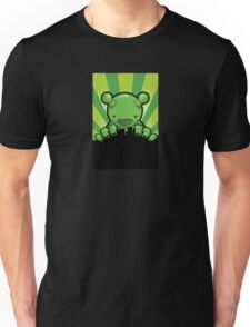 Big Fat Robot eats Melbourne - green T-Shirt