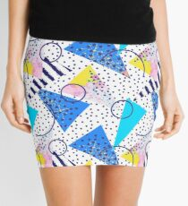 80s glam 1 Mini Skirt
