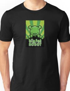 Big Fat Robot eats Melbourne - green with logo T-Shirt