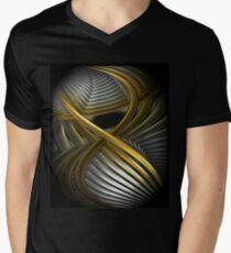 Fractal  Men's V-Neck T-Shirt