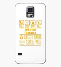 SPANISH TEACHER - NICE DESIGN 2017 Case/Skin for Samsung Galaxy
