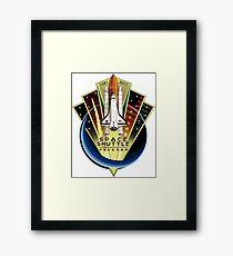 Space Shuttle Program: 30 Years Framed Print