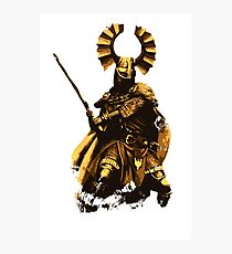 Teutonic Medieval Knight Photographic Print