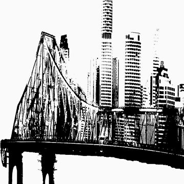 Brisbane Bridged. by Dillema