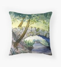 Shanklin Chine Throw Pillow