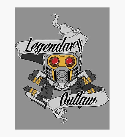 Legendary Outlaw Photographic Print