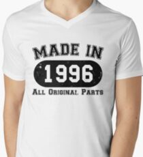 Made in 1996 All Original Parts 21st Twenty First One Birthday T-Shirt