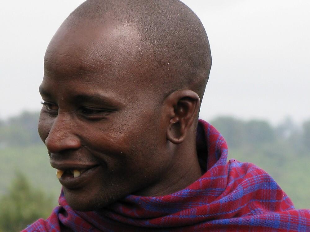 Masaii warrior by thekineticpen