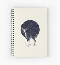 Snow Flake Spiral Notebook