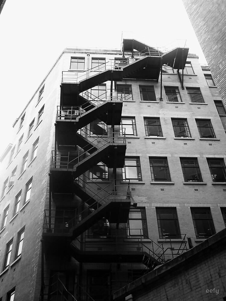 Fire Escape by eefy