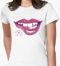 Bite Me! Womens Fitted T-Shirt