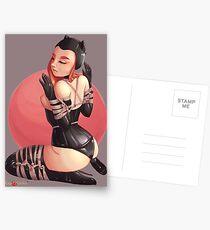 Rubber Kinbaku Kitten by Luxje Postcards