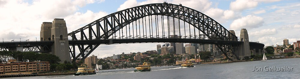 Sydney Harbor Bridge by Jon Gellweiler