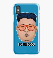 So Kim Jong Un Cool iPhone Case