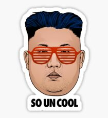 So Kim Jong Un Cool Sticker