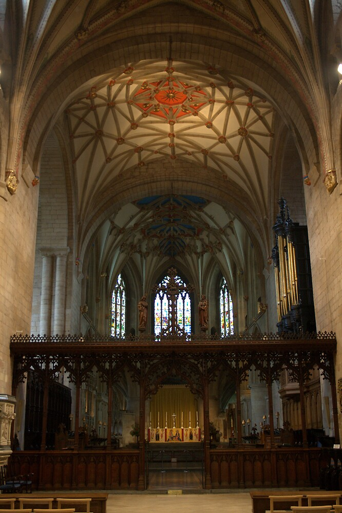Tewkesbury Abbey: High Altar and Screen by Martin Carr