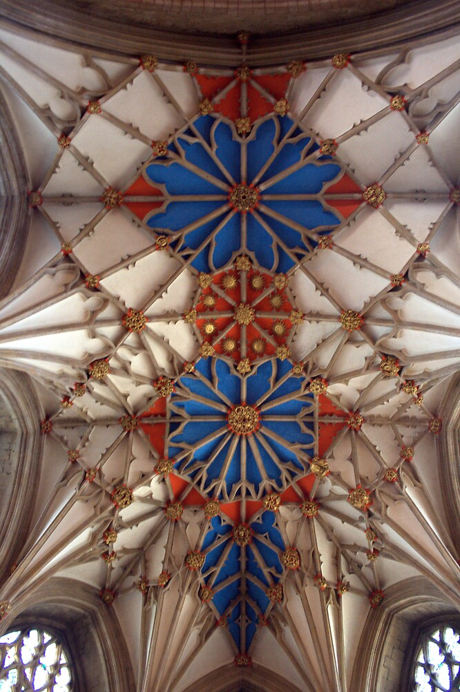 Tewkesbury Abbey: Ceiling by Martin Carr