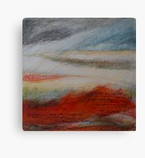 Red sand DUNE 2 Canvas Print