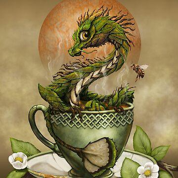 Tea Dragon by SMorrisonArt