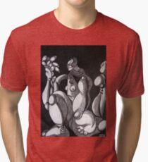 female figure Tri-blend T-Shirt