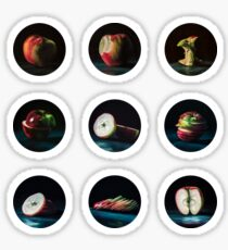 Apple Sticker Sheet Collection Sticker