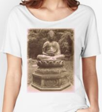 Zen Japanese Garden Women's Relaxed Fit T-Shirt