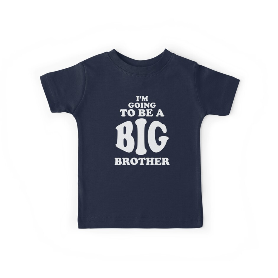 I'm Going To Be a Big Brother Shirt by threadsmonkey