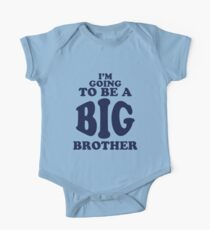 I'm Going To Be a Big Brother Shirt Kids Clothes