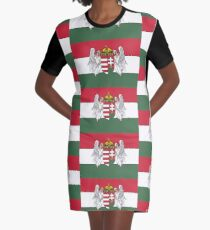 Kingdom of Hungary Graphic T-Shirt Dress