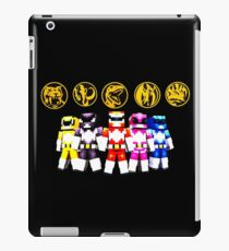 Mighty Morphin Minecraft Rangers iPad Case/Skin