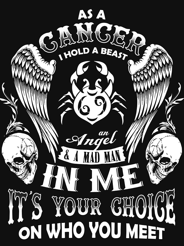 As A Cancer I Hold A Beast An Angel A Madman In Me - Best Design by teerich