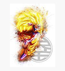 Goku SSJ3 - Dragon Ball Z Photographic Print