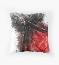 Guts - Berserk Throw Pillow