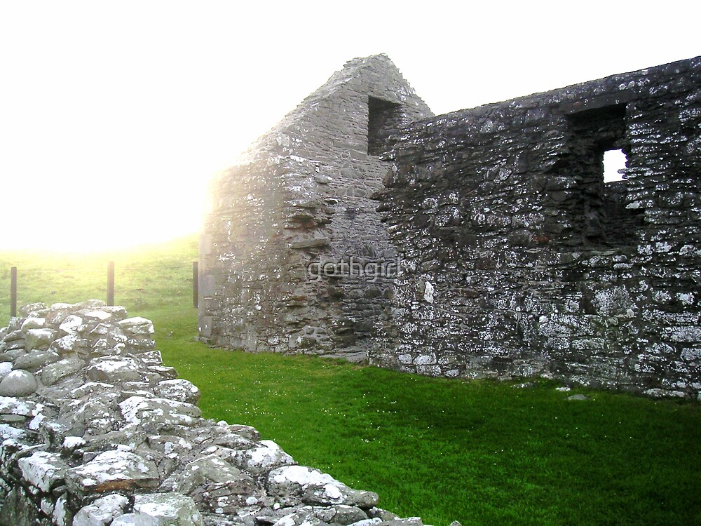 Ancient Chapel Scotland by gothgirl