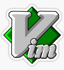 Vim - Text Editor - Since 1991 Sticker