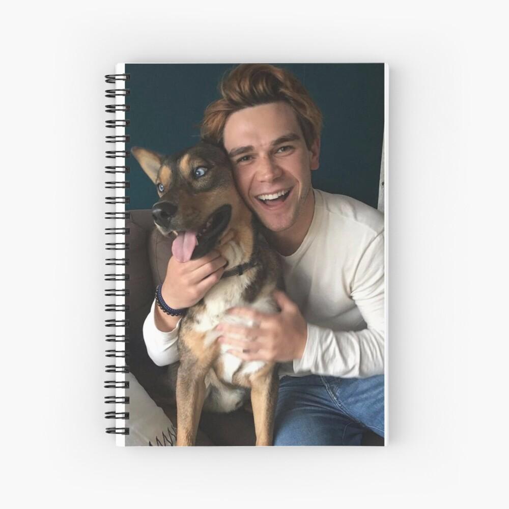 KJ Apa - actor Spiral Notebook