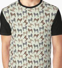 Camiseta gráfica SHAR PEI DOG