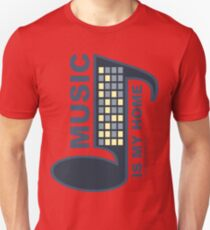 Music Is My Home Unisex T-Shirt