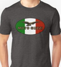 Moto Guzzi ITALIAN FLAG T-Shirt